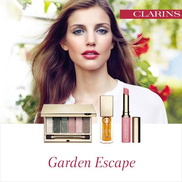 Clarins - Garden Escape Spring 2015